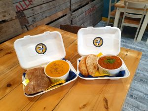 Takeaway Homemade Soup or Curry